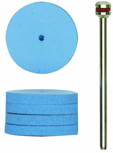 Proxxon 28294 elastische Silikonpolierer, rad-Form 22mm, 10 Stück