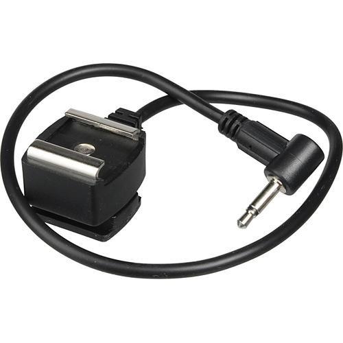 "Impact Mini Phono Plug to Female Hot Shoe Cord for Pocket Wizard (12"")"