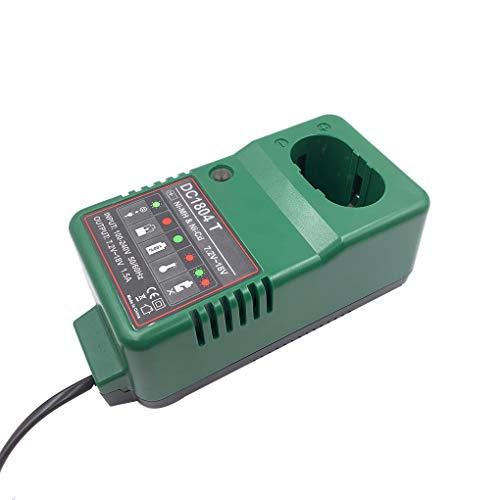 teng hong hui Reemplazo para DC1804 7.2V - 18V Cargador para DC1804 Cargador de batería Universal Taladro eléctrico Destornillador de Accesorios Enchufe de la UE