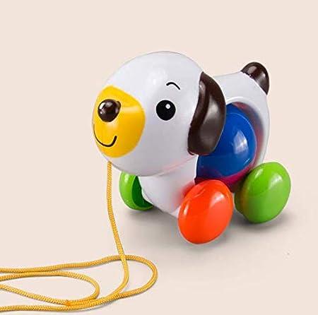 Amazon 引っ張るおもちゃ 可愛いおもちゃ 犬 車おもちゃ プルトイ 犬車 お散歩 プラスチック製 赤ちゃんのおもちゃ 音が鳴 知育 玩具 面白い お散歩おもちゃ おもちゃ雑貨 おもちゃ