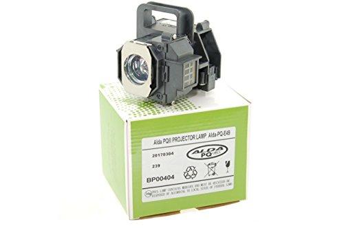 Alda PQ-Premium, Beamerlampe / Ersatzlampe für EPSON EH-TW3600 Projektoren, Lampe mit Gehäuse