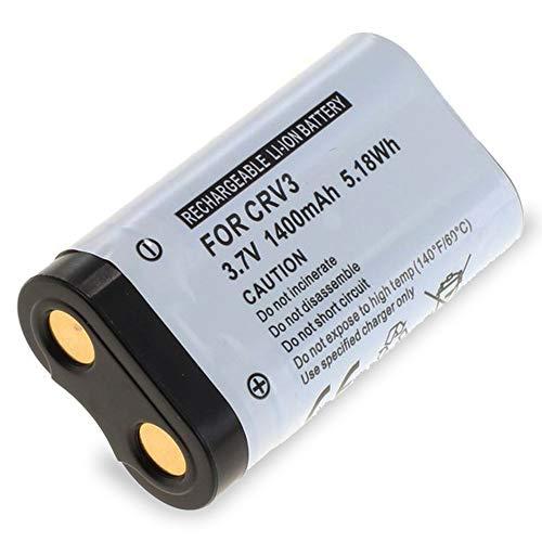 CELLONIC® Qualitäts Akku kompatibel mit Pentax Optio S60 / Optio S55 / Optio S50 / Optio S45 / Optio S40 (1400mAh) CR-V3 Ersatzakku Batterie