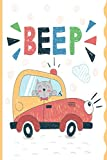 Beep: Cute 3 Minute Gratitude Journal For Kids • Easy Children Happiness Notebook to Practice Daily Gratitude and Mindfulness • Version 2