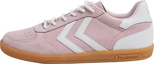 hummel Mädchen Victory Suede Jr Sneaker, Pale Lilac, 34 EU