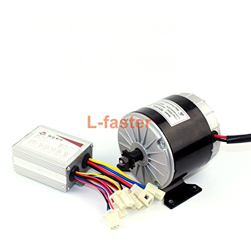 24 V36 V 350 W Unitemotor MY1016 met Yiyun Controller Electric High Speed Brushed DC Motor met A 350W Electric Bike Controller