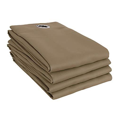 Cre materiale idrorepellente tessuto e resistente ai raggi UV HomeStore-Global Sostituzione della tela di canapa per il tetto gazebo 3m x 3m