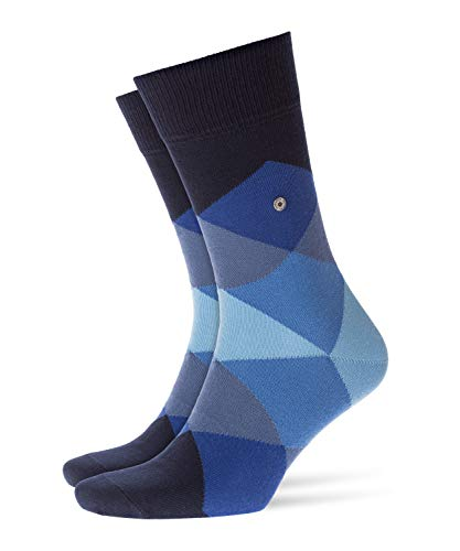 BURLINGTON Herren Clyde M SO Socken, Blickdicht, Blau (Marine 6122), 40-46 (UK 6.5-11 Ι US 7.5-12)