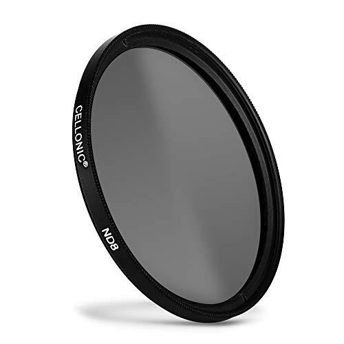CELLONIC® Neutraldichte Filter ND8 kompatibel mit Panasonic Leica/Lumix Ø 62mm Graufilter, Langzeitbelichtung