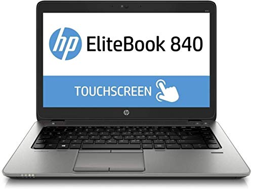 HP EliteBook 840 G2 14' FHD Touchscreen Business Laptop Computer, Intel i5-5300U, 16GB RAM, 256GB SSD, USB 3.0, Backlit Keyboard, Fingerprint Reader, Webcam, USB 3.0, Windows 10 Professional (Renewed)