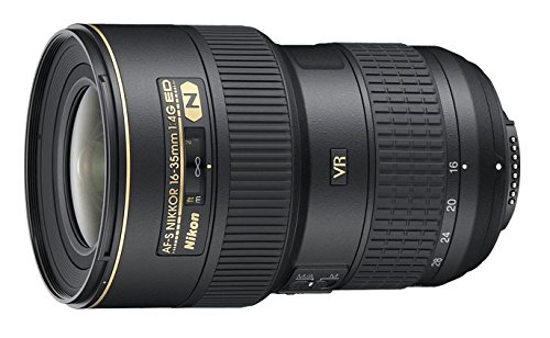 Nikon AF-S FX NIKKOR 16-35mm f/4G ED Vibration Reduction Zoom Lens