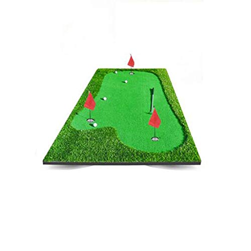 Affordable ZTJQD Golf Deluxe Putting Mat 150 300cm Driving Chipping Pitching Putting (Color : Medium...