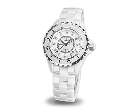 Kronsegler Athena1 Ladies Watch Ceramic white