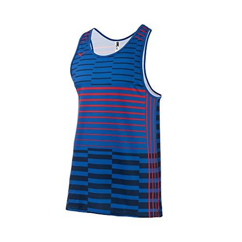 Mizuno Hombres Hombres - 530095, Hombre, XS, Azul marino/flor y brillo