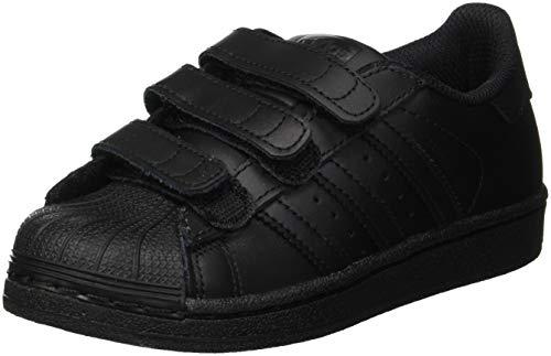 adidas Superstar Foundation CF C, Zapatillas Unisex Niños, Negro (Core Black/Core Black/Core Black 0), 33.5 EU