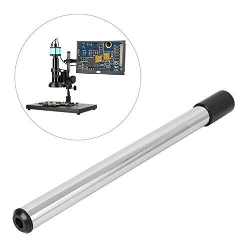 Colonna per microscopio stereo KP-C50, colonna per microscopio per riparazione cellulare, 325x25mm / 12,8x1in (L x D), adatta per microscopio video monoculare XDC-10