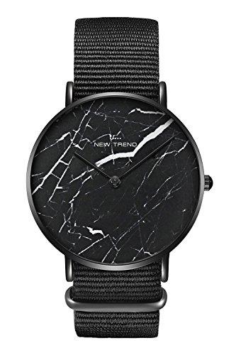 New Trend - Love for Accessories Damen Uhr analog Quarzwerk mit Stoff-Armband RU-SRKR-N98O