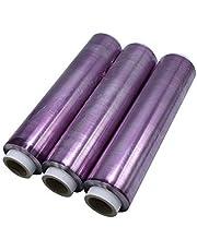 Rollos film alimentación transparente 30x300 - Pack 3 rollos
