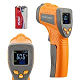 Inkbird Temperature Gun Infrared Thermometer for Cooking, Laser Thermometer Gun Digital for Pizza Oven and Reptiles, -58℉~1022℉ (INK-IFT01)