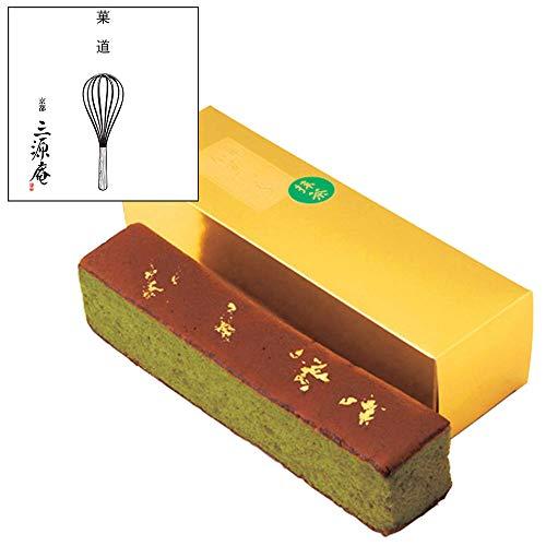 京 伏見三源庵 抹茶金箔カステラ 865-1