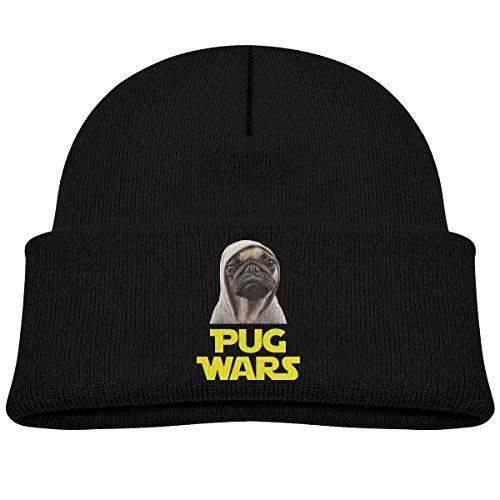 NR Pug Wars Bonnet doux en tricot pour bébé