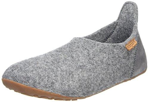 Bisgaard Unisex-Kinder Wool Basic Slipper, Grau (70 Grey), 32 EU