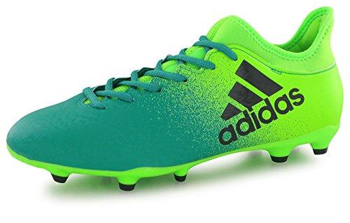 adidas Herren X 16.3 Fg für Fußballtrainingsschuhe, Mehrfarbig Sgreen Cblack Corgrn, 42 EU