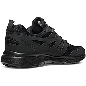 TSLA Men's Lightweight Sports Running Shoes, Groove Mesh(x710) - Blackout, 10.5