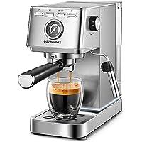 Yabano 20Bar Compact Espresso and Cappuccino Maker Coffee Machine