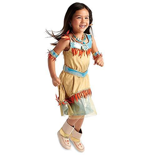 Disney Pocahontas - Disfraz infantil (tallas 11/12)