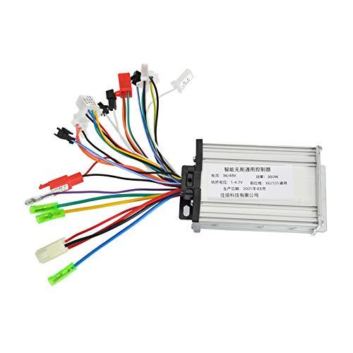 Colcolo Caja de Inversor de Controlador de Bicicleta Eléctrica de Lujo 350W 36V48V
