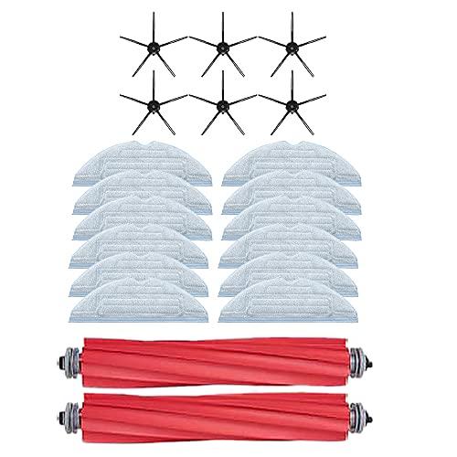 SIGNABOT 20 Piezas para Robot S7 T7S Plus Accesorios de Aspiradora Cepillo Principal Desmontable PaaO Cepillo Lateral