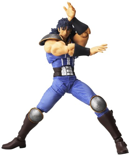 Kaiyodo Tradition Revoltech : Lr-002 Fist of The North Star : Rei Action Figure
