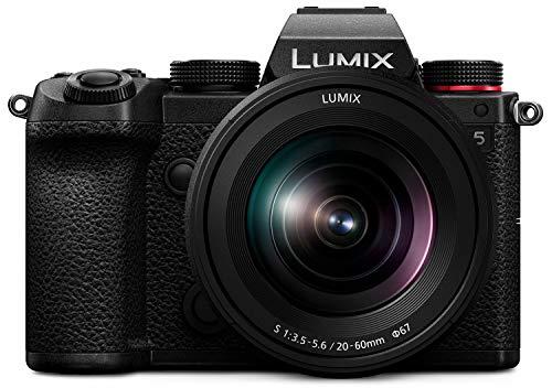 パナソニック フルサイズ ミラーレス一眼カメラ ルミックス S5 標準ズームレンズキット 小型 軽量モデル ブラック DC-S5K-K