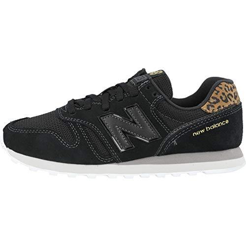 New Balance 373 WL373JB2 Medium, Zapatillas Mujer, Black (Black JB2), 39 EU