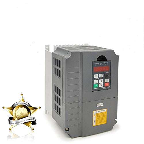 Vector Control CNC VFD Variable Frequency Drive Controller Inverter Converter 220V 5.5KW 7.5HP For Spindle Motor Speed Control HUANYANG GT-Series (220V, 5.5KW)