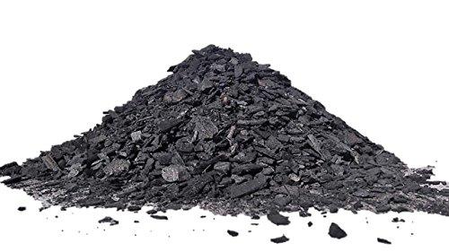 Pflanzenkohle, Biochar, Premium Qualität, in der Betriebsmittelliste für den ökolog. Landbau gelistet, zur Kompostierung, Bodenverbesserung, Terra Preta Herst. & CO2-Bindg., Schüttvolumen 50 Liter