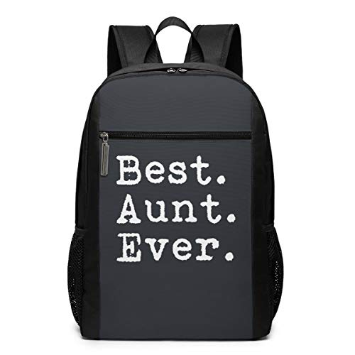 Best Aunt Gift Backpack 17 Inch Large Laptop Backpack School Backpack