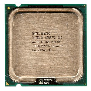 CPU775 Intel Core 2 Duo 1.86 GHz & # x2022; E6300/2MB/1066/Box