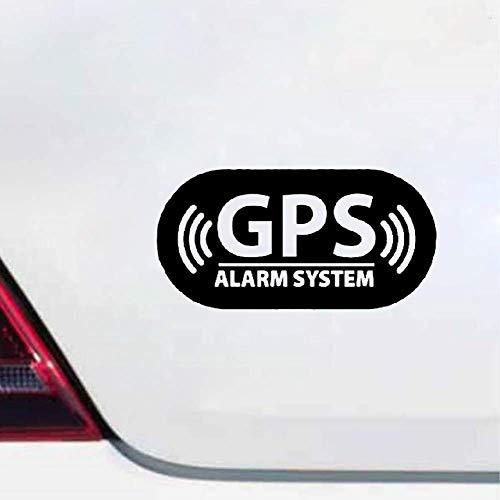 Autoadhesivos Sistema de alarma GPS Etiqueta engomada del coche Personalidad de la...