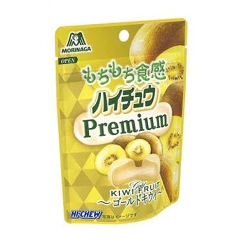 森永製菓 ハイチュウプレミアム ゴールドキウイ 35g ×10個