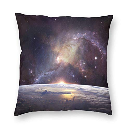 BK Creativity Cushion Cases,Mystery Galaxy Nebula Space Universe Cushion Cases,Double-Sided Print Throw Pillow Covers For Long Trips Short Breaks,45X45CM