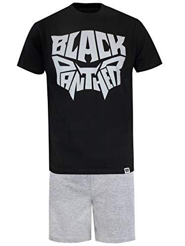 Marvel Black Panther Pijama para Hombre Negro Size XX-Large