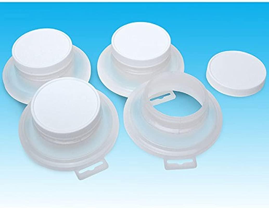 Eastwood 4 Packs Pour It Sealing Lids Paint For Quart Store Cans No Mess Reusable Heavy Plastic Lid