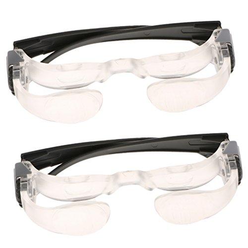 Nobranded 2 Teilige Hyperopia Vergrößerungs TV Brille Verstellbare Lupe Lesebrille