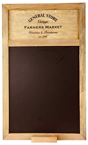 General Store Blackboard ~ 50cm x 34cm Shabby Chic Style Memo Board by Carousel Home
