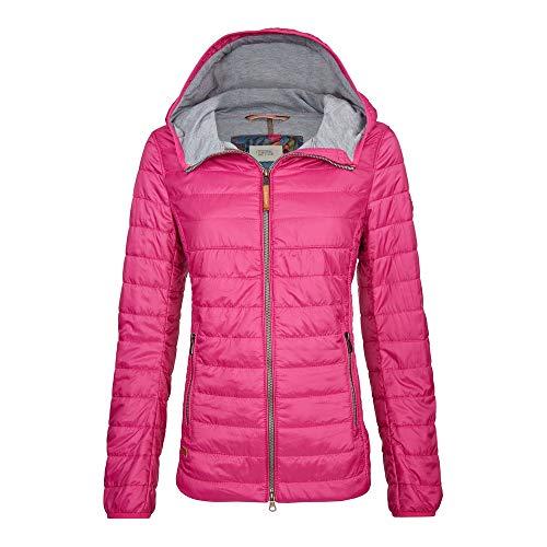 camel active Womenswear Damen Leichtstepp Blouson Jacke, Rosa (Pink 85), 34