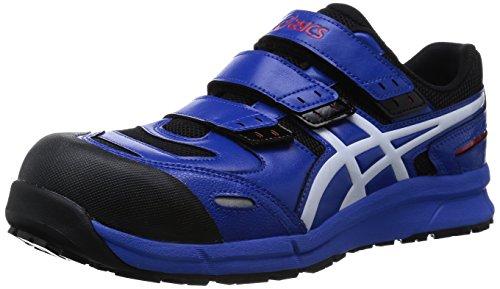 [アシックス] 安全靴 作業靴 ウィンジョブ 樹脂製先芯 FCP102 ブルー/ホワイト 25.0 cm 3E