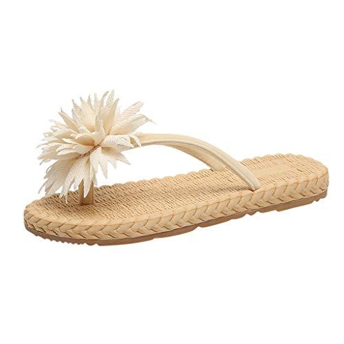 Beonzale Neue Sommermode Outdoor Casual Sportschuhe Flip-Flops leichte Strandblumensandalen und Hausschuhe