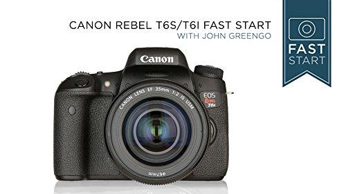 Canon Rebel T6s/T6i Fast Start