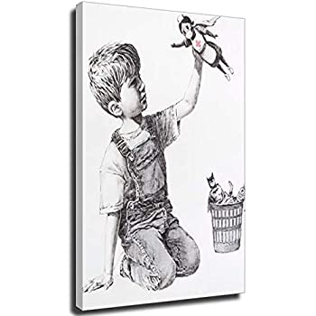 Game Changer Super Hero Nurses Banksy Picture Paint Picture RepPrint On Framed Canvas Wall Art Home Decoration Frame-style1 8×12inch 20×30cm